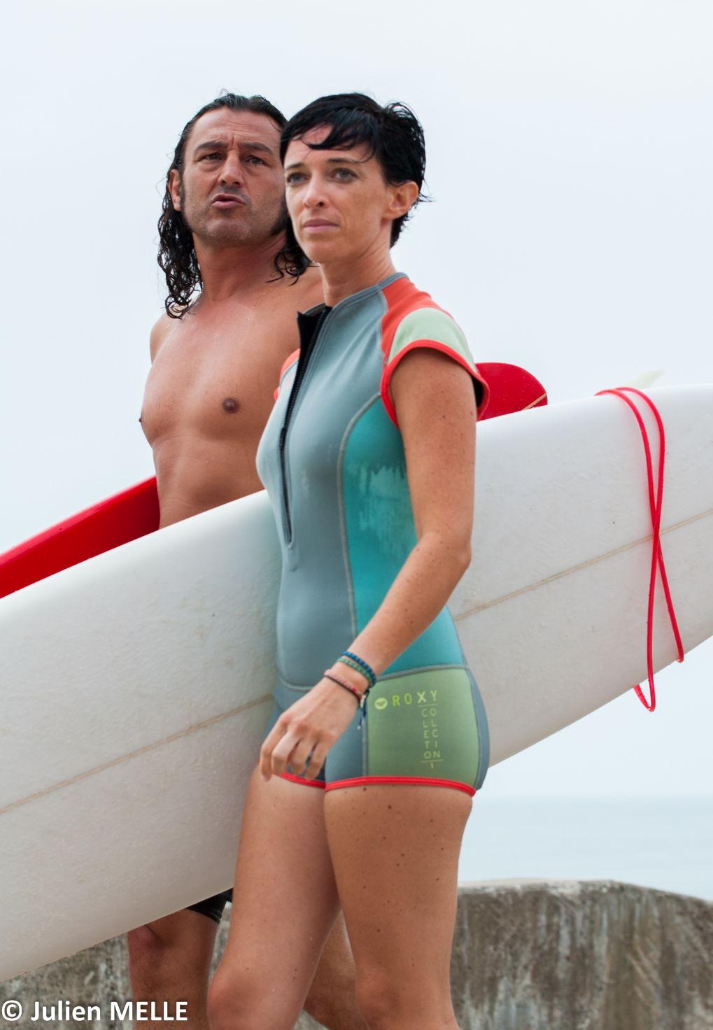 Combinaison pour aller surfer au Big Festival