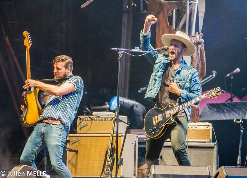 Le rock énergisant de Yodelice à Big Festival
