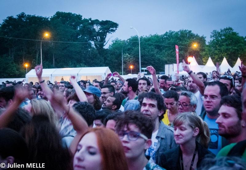 Le public au Big festival