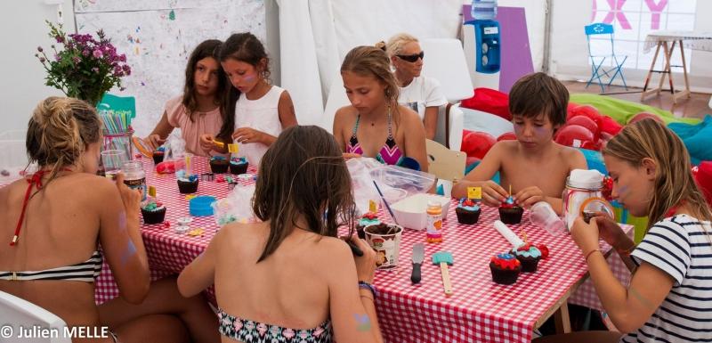 Des ateliers au big festival pour les enfants