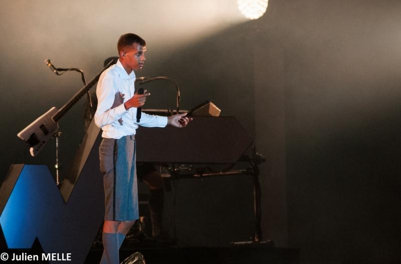 Par moment Stromaé se sent fort minable sur la scène du Big Festival