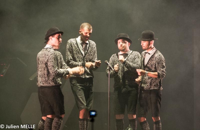 Un quartet pour terminer ce show exceptionnel à Big Festival
