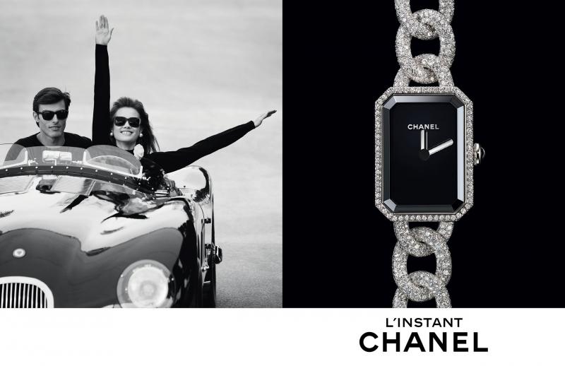Publicité Chanel pour les montres