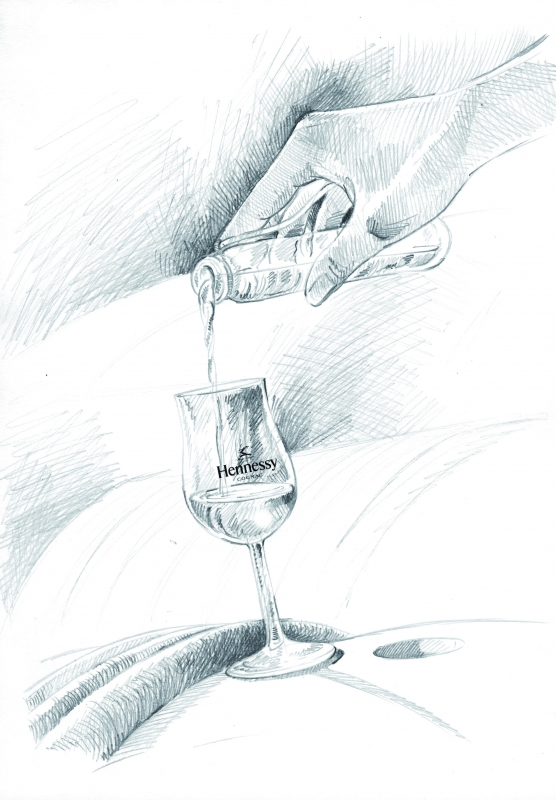 Hennessy Fine de Cognac, la signature d'une attitude luxe