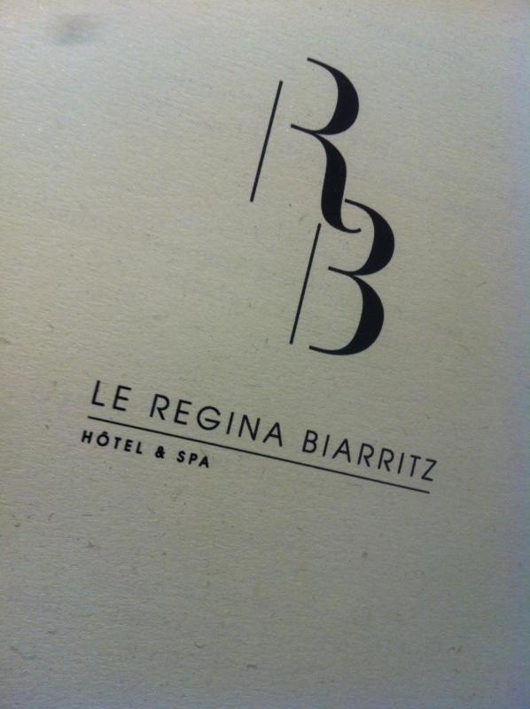 Pour l'ouverture du Régina Hôtel à Biarritz