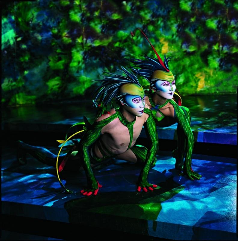 Les Mystères par le Cirque du Soleil