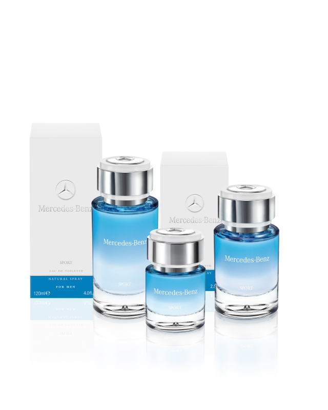 Mercedes-Benz Sport for Men se positionne sur le parfum de luxe