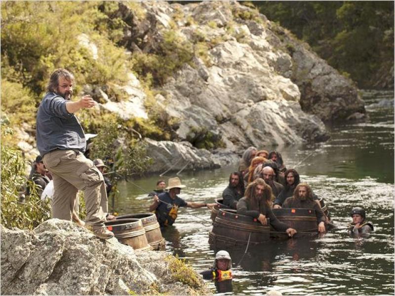 Sur le tournage du Hobbit