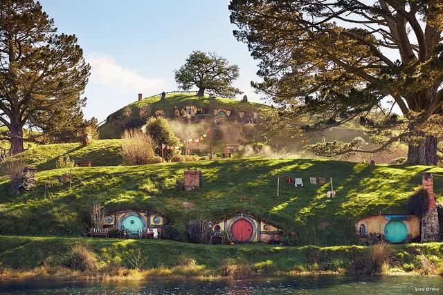 Dans le décor du Hobbit en Nouvelle Zélande