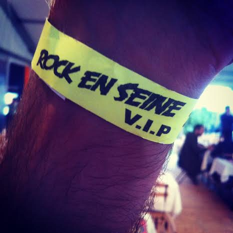Le pass de Rock en Seine !