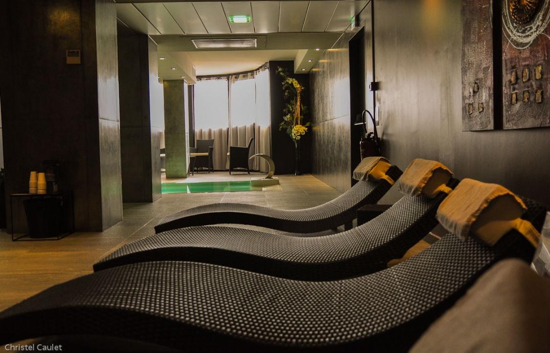 Espace de détente au Spa du Palladia à Toulouse
