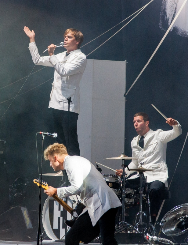 The Hives, groupe punk à Rock en Seine