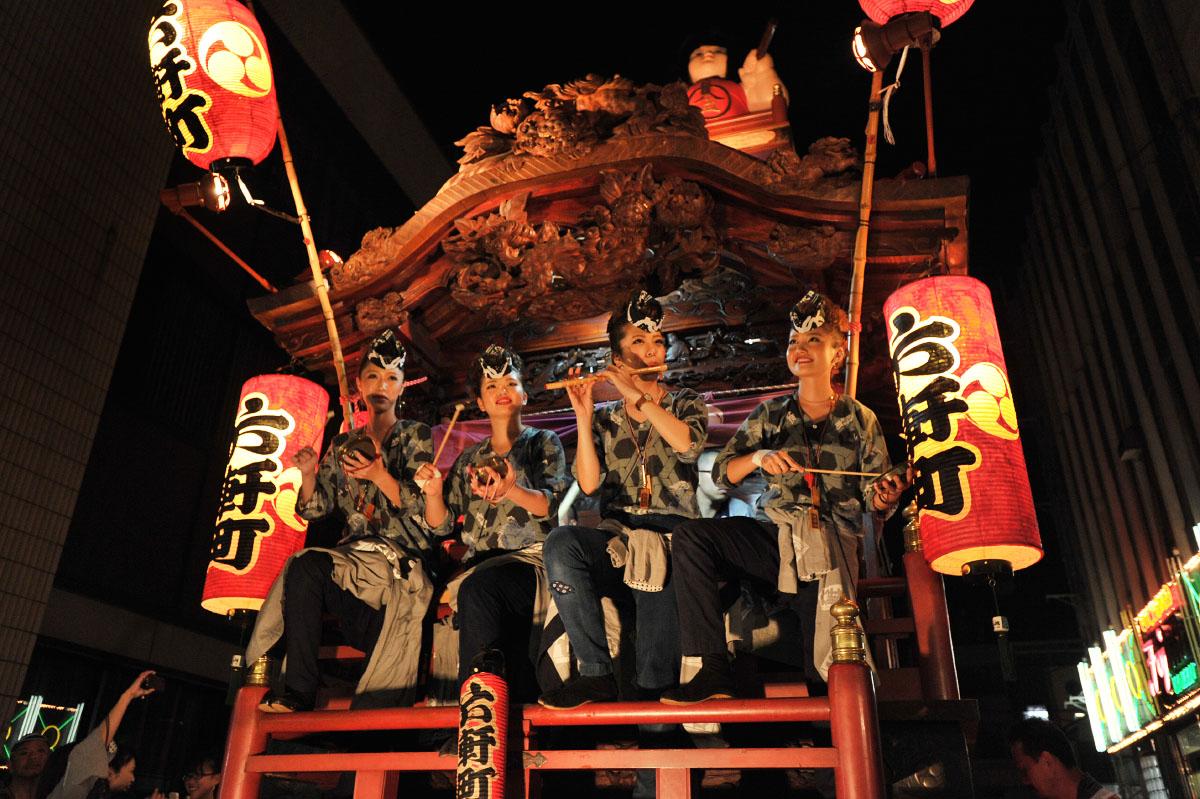 Gion Matsuri se tient dans le quartier de Gion à Kyoto