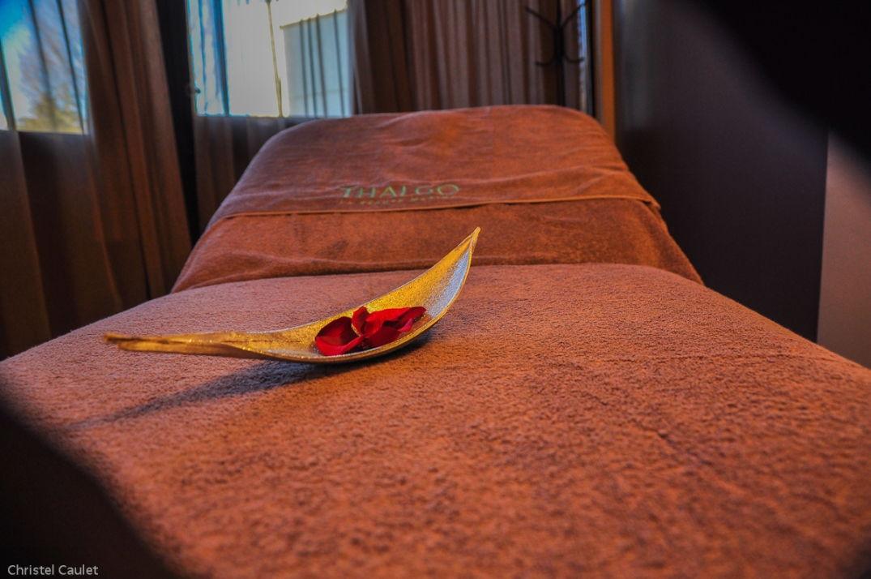 Salle de massage au Spa du Palladia à Toulouse
