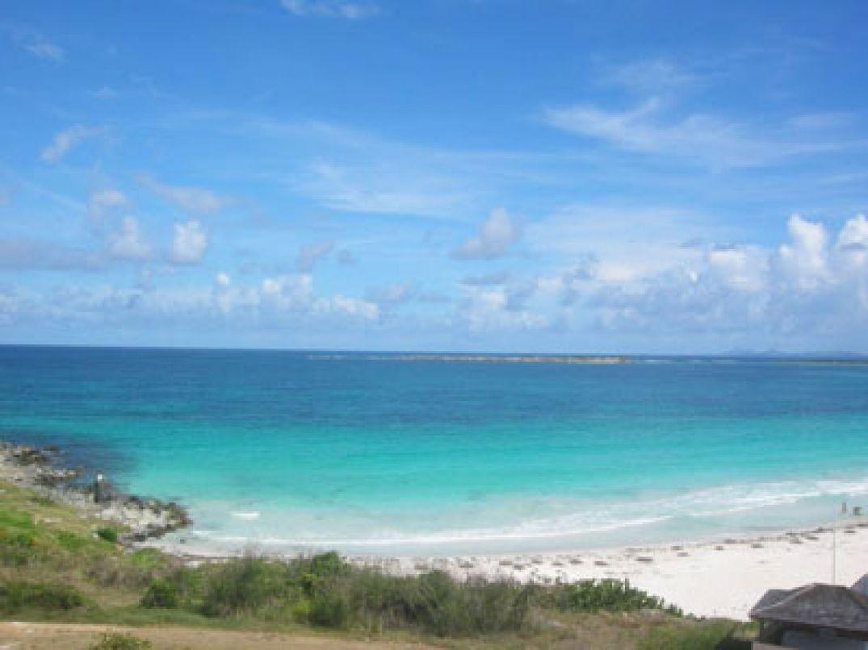 Saint-Martin, un paradis de l'immobilier de luxe.. Une plage de luxe