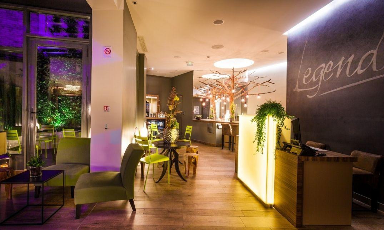 L'hôtel Legend à Paris dans les espaces communs