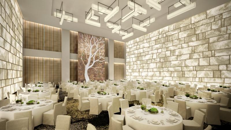 La salle de restaurant de l'hôtel Park Hyatt à New York