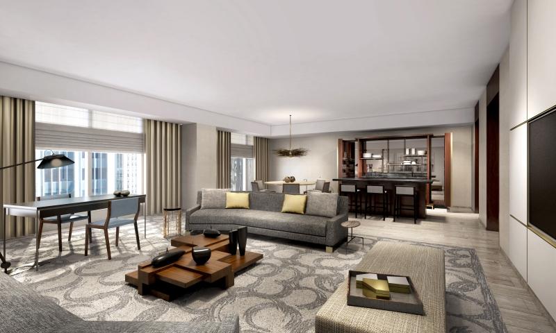 suite royale de l'hôtel Park Hyatt à New York