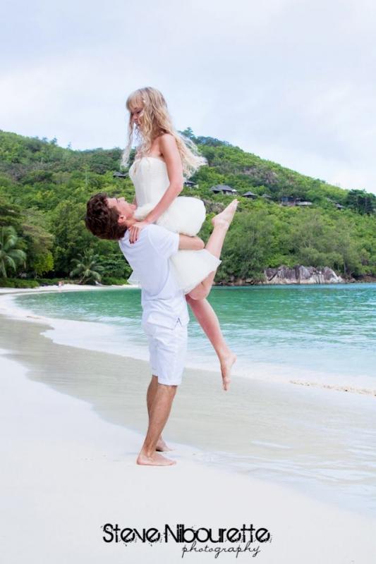 Des mariages aux Bahamas avec Aurélie Bagot de Bahamour DR : Steeve Nibourette