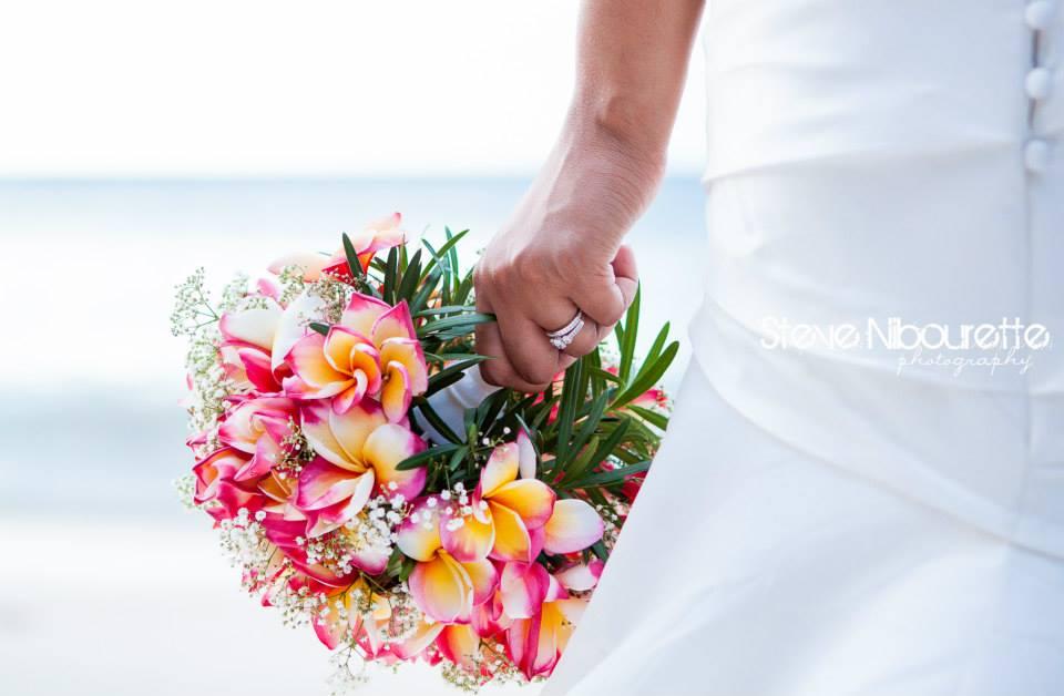 Aurélie Bagot ou l'assurance d'un mariage réussi aux Bahamas DR : Steeve Nibourette