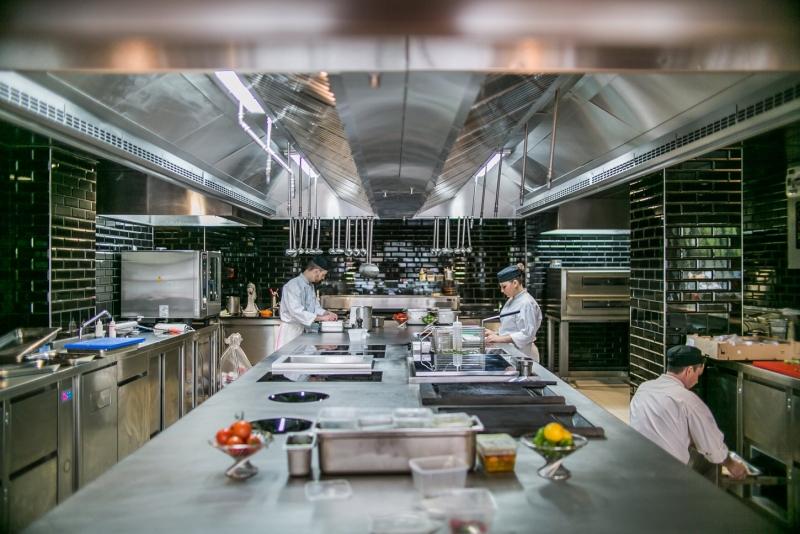 Dans les cuisines du Fr/ame à Paris