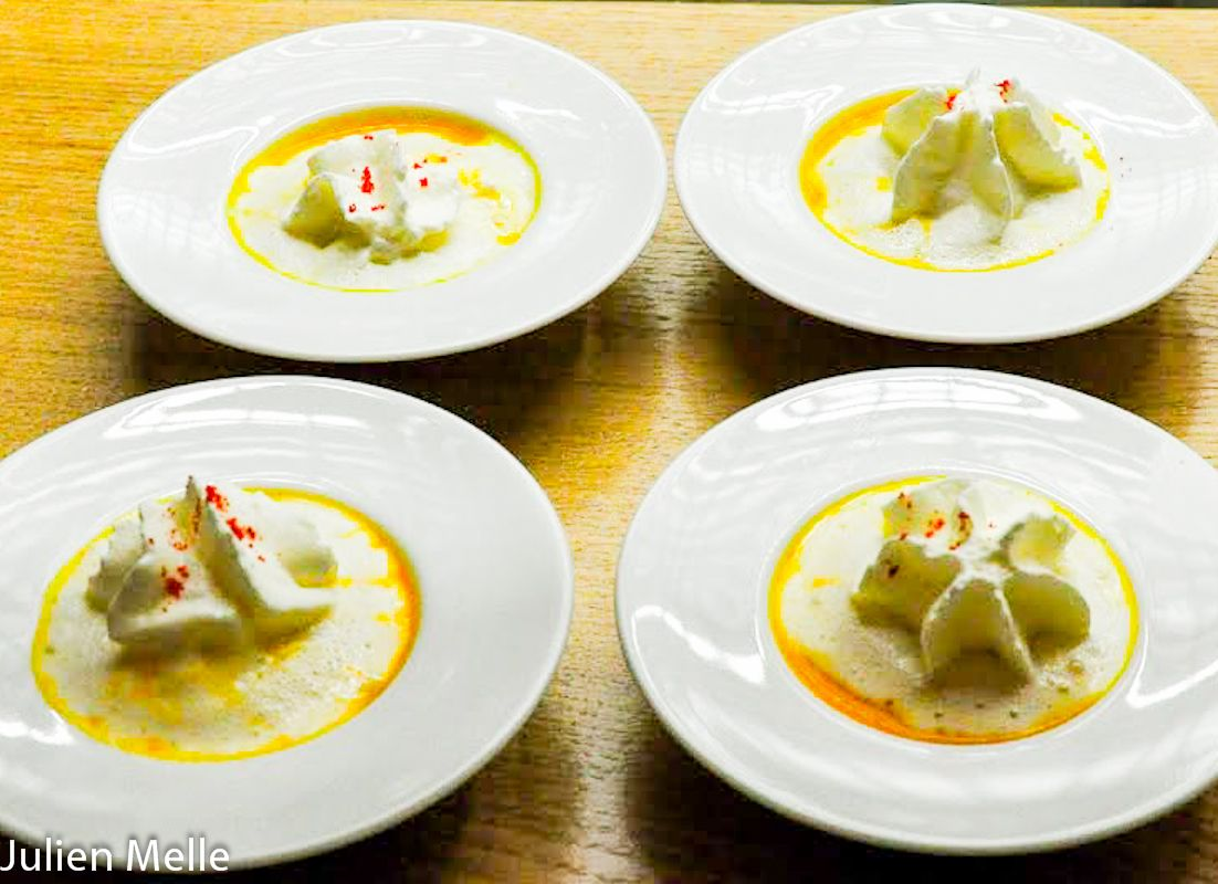 Des plats appétissants à la Pente Douce à Toulouse