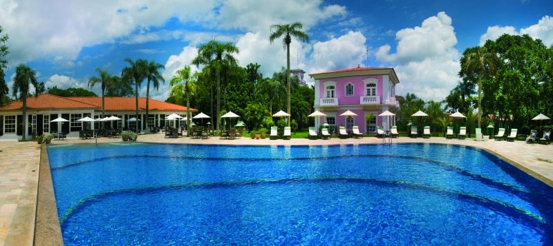 La piscine de l'hôtel Belmond das Cataratas à Foz do Iguaçu