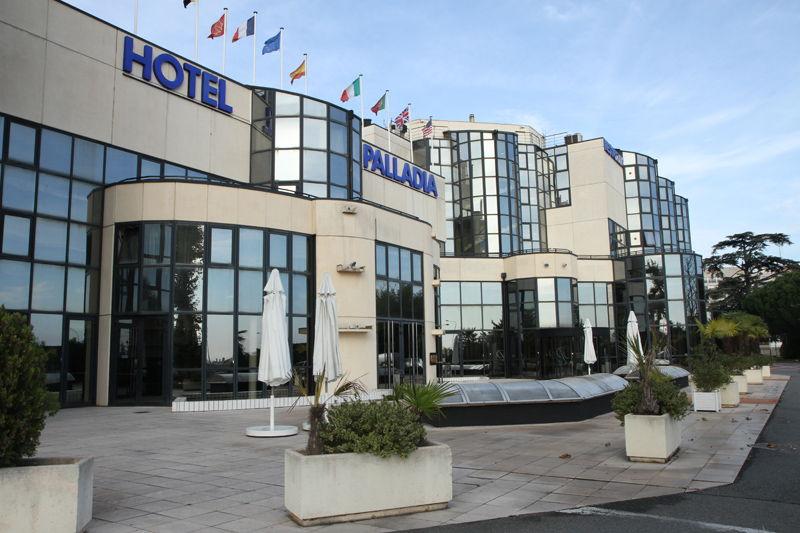 La façade de l'hôtel Palladia à Toulouse