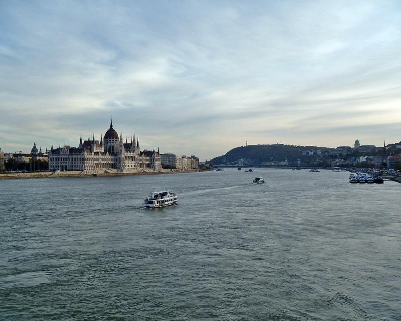 Le Danube corso à Budapest