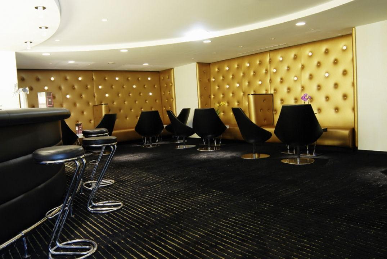 Le bar lounge de l'hôtel Palladia à Toulouse