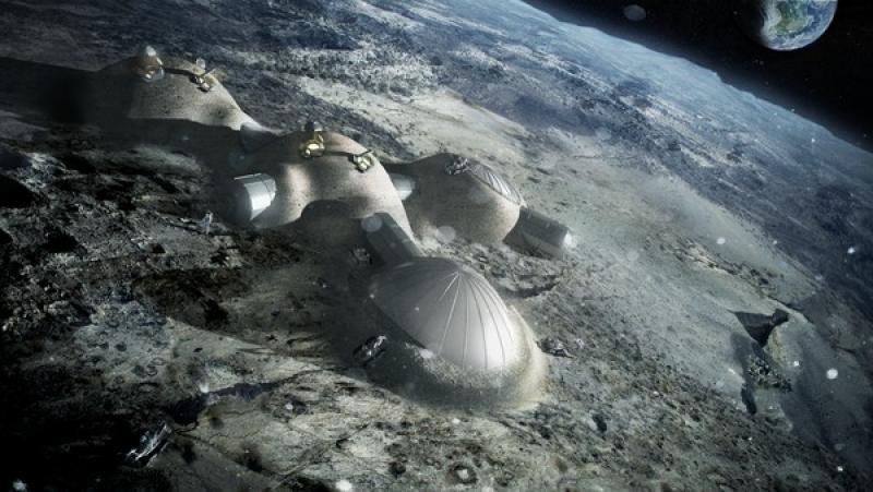 L'espace par Foster and partners