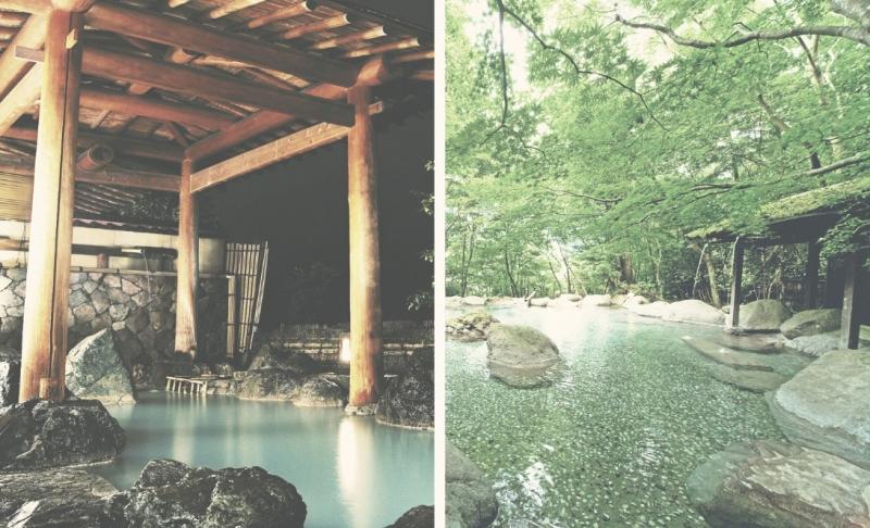 Les onsens ou sources d'eau chaude naturelles sont nombreuses à Kyoto