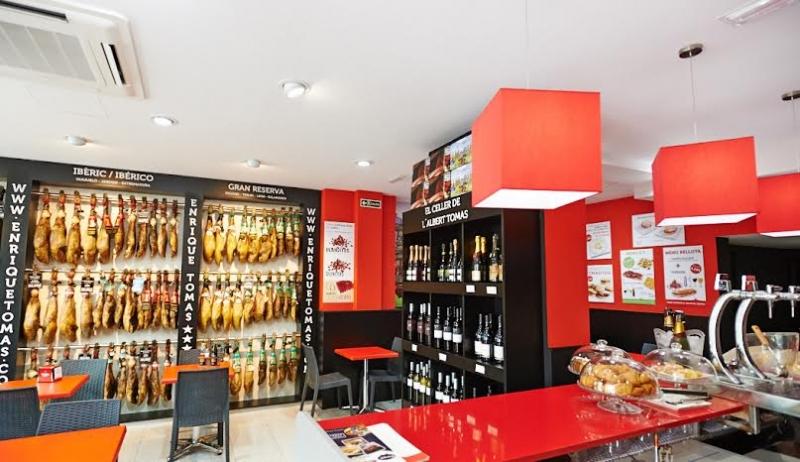 La boutique Enrique Tomas à Barcelone