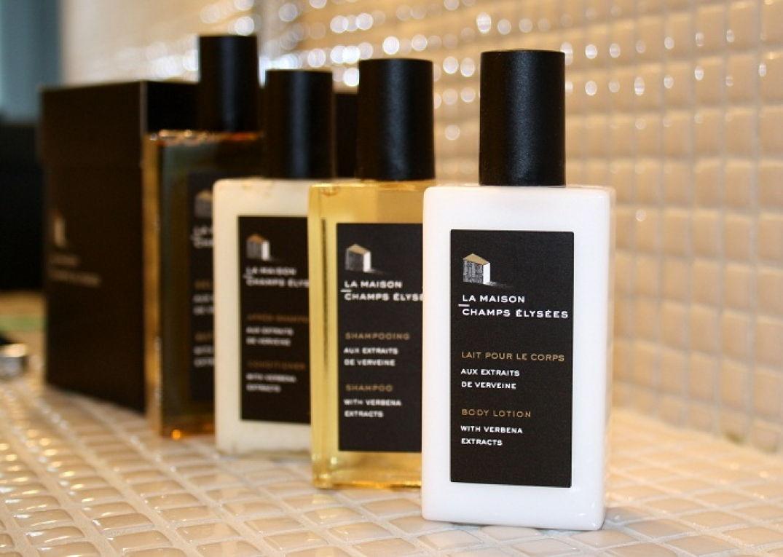 Les produits de beauté de Martin Margiela à la maison Champs Elysées