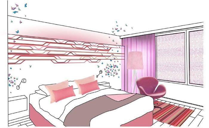 Des chambres aux couleurs de la Pink Attittude