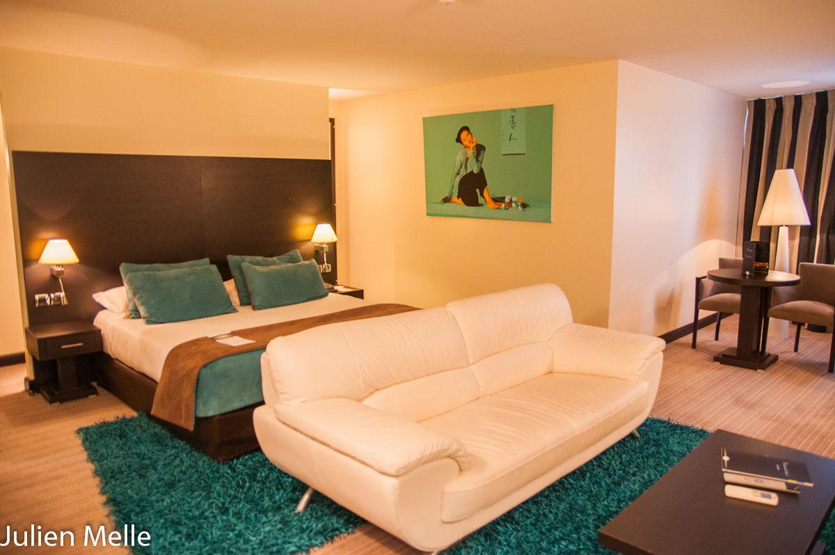 Une des suites de l'hôtel Palladia à Toulouse