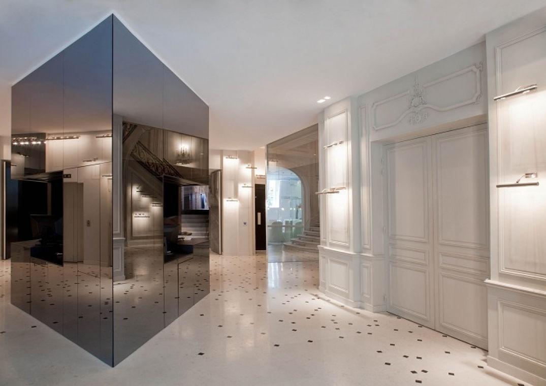 Maison Champs Elysées par Martin Margiela dès l'entrée