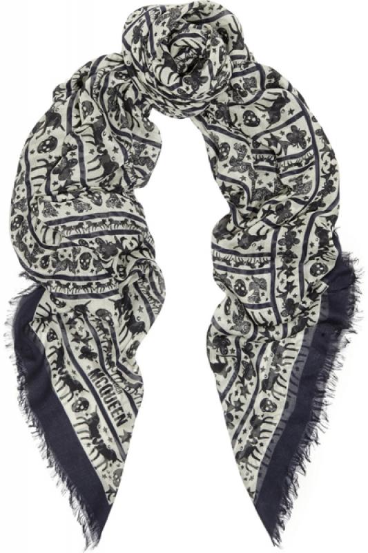 L'option : Le foulard imprimé
