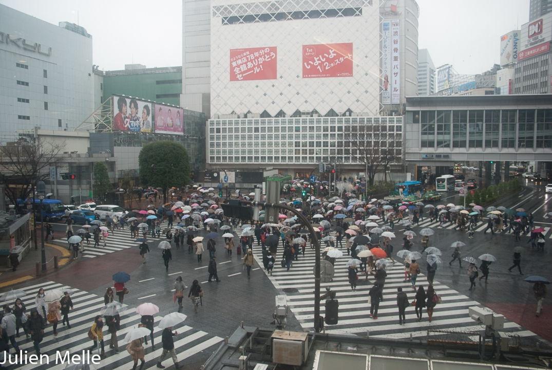 Dans Tokyo, la ville high-tech