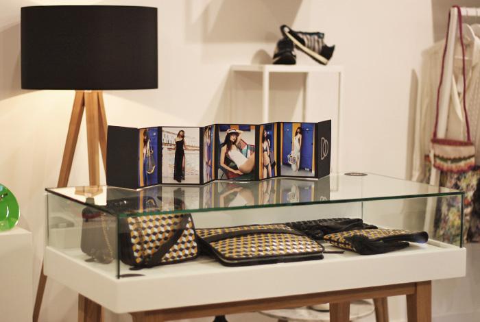 Des sacs et autres objets de décoration chez Matière grise à Toulouse