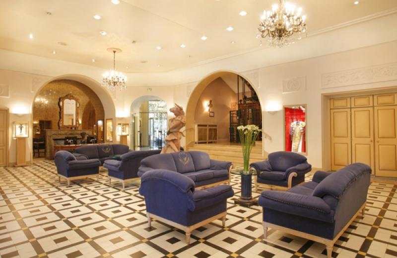 Les salons de l'hôtel Imperator à Nimes