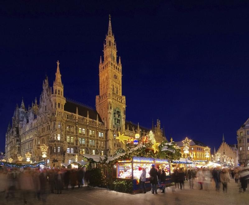 Marché de Noël à Munich