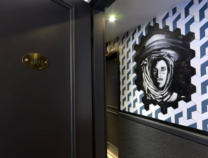 Graphisme à l'hôtel Gaston à Paris mis à l'honneur