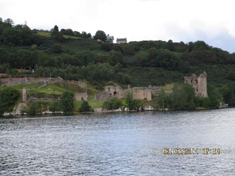 Les rives du Loch Ness en Écosse