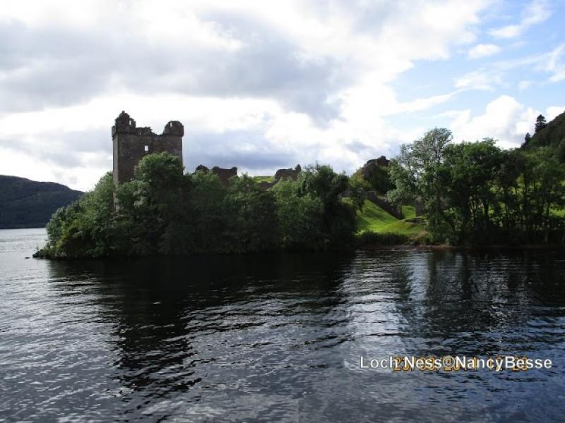 Le château du Loch Ness en Écosse