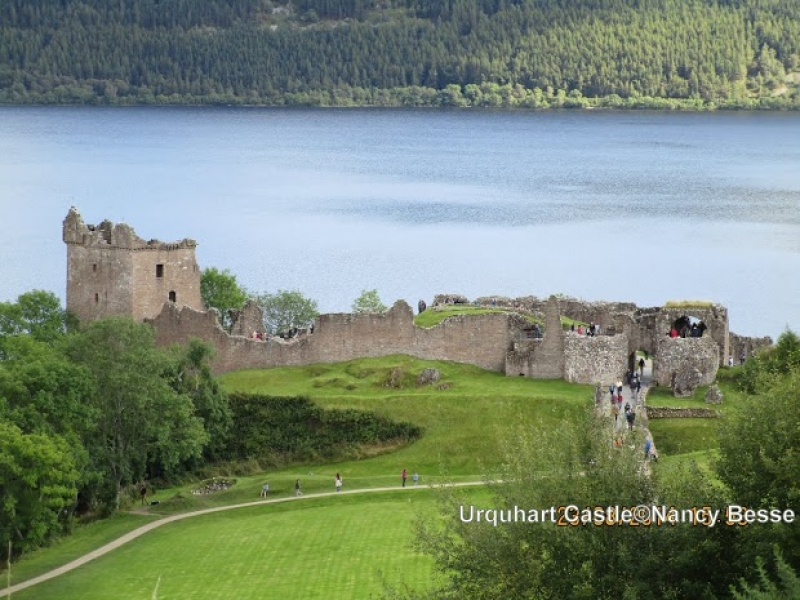 Paysage du Loch Ness en Écosse