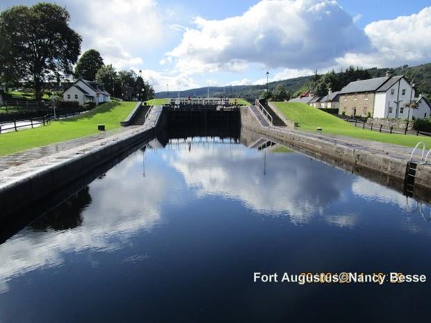 Fort Augustus en Écosse