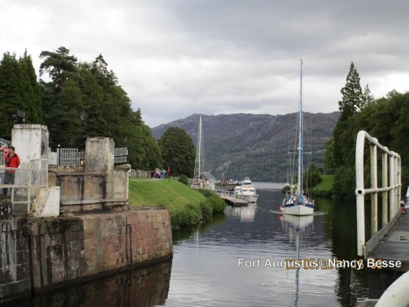 Le fort augustuc au Loch Ness en Écosse