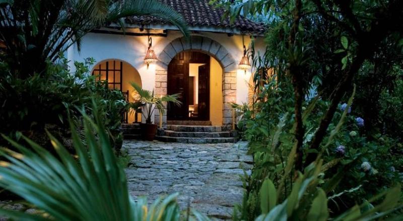 Dans mon bungalow à Inkaterra au Machu Picchu