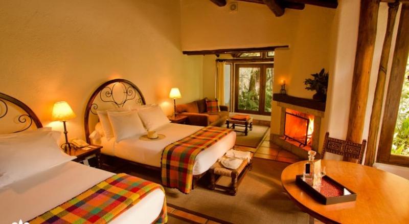 Dans une des chambres spacieuses à Inkaterra au Machu Picchu